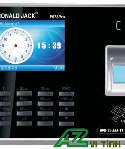 Máy Chấm Công Vân Tay RONALD JACK F678PRO