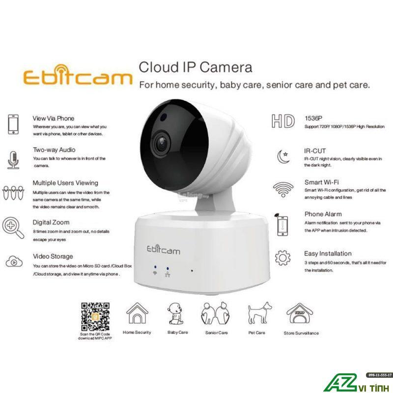 camera Ebitcam E2 1Megapixel